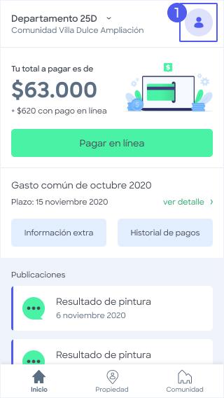 Con pago en línea